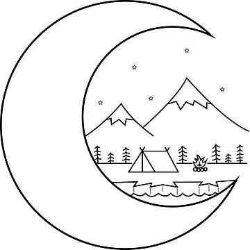 Acampar en la luna de smalltownnc