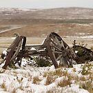 Snowy Wagon by Kathi Huff
