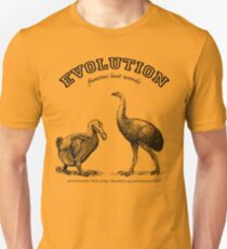 EVOLUTION...it even takes the Unbelievers! T-Shirt
