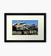 Lazy Daisy Mae B-25J Framed Print