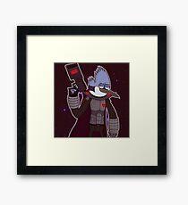 Future Mordecai Framed Print