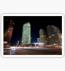 Potsdamer Platz at Night Sticker