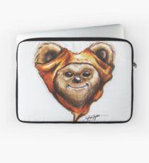 Ewok Star Wars Heart Art Laptop Sleeve