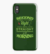 Peter Pan Neverland  - Second Star iPhone Case