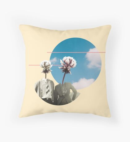 In Botany With You  Throw Pillow