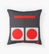 NES Buttons Throw Pillow