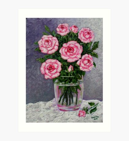 Time for roses Art Print