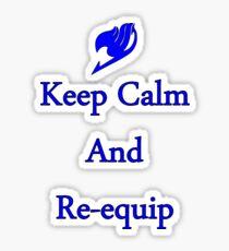 Erza Re-Equip Sticker