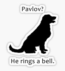 Pavlov - Dog Pun Sticker