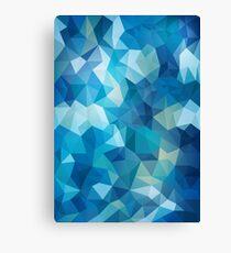 Abstract Geometric Polygon Sea Canvas Print