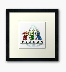 Lámina enmarcada La leyenda de Zelda