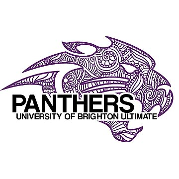 University of Brighton Ultimate - Black Letters by WhyHelloEmily