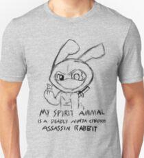 Deadly Ninja Cyborg Assassin Rabbit T-Shirt