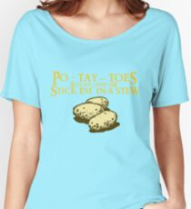 Po-tay-toes Women's Relaxed Fit T-Shirt