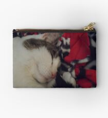 Snuggle Kitty Studio Pouch