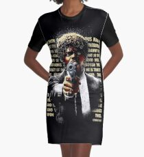 The Path of Righteous Man Graphic T-Shirt Dress
