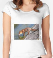 Young Adult Vixen Women's Fitted Scoop T-Shirt