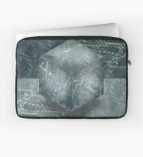 Aluminum Cube Natural Laptop Sleeve