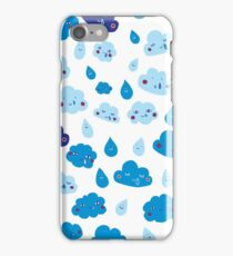 Rain, with a chance of... iPhone Case/Skin