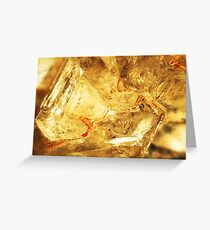 Triangulate (Apophyllite) Greeting Card