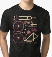 Bicycle Parts Tri-blend T-Shirt