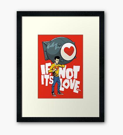 The Bomb Framed Print