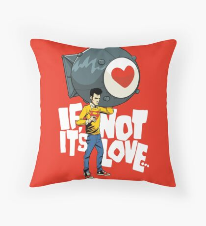 The Bomb Throw Pillow