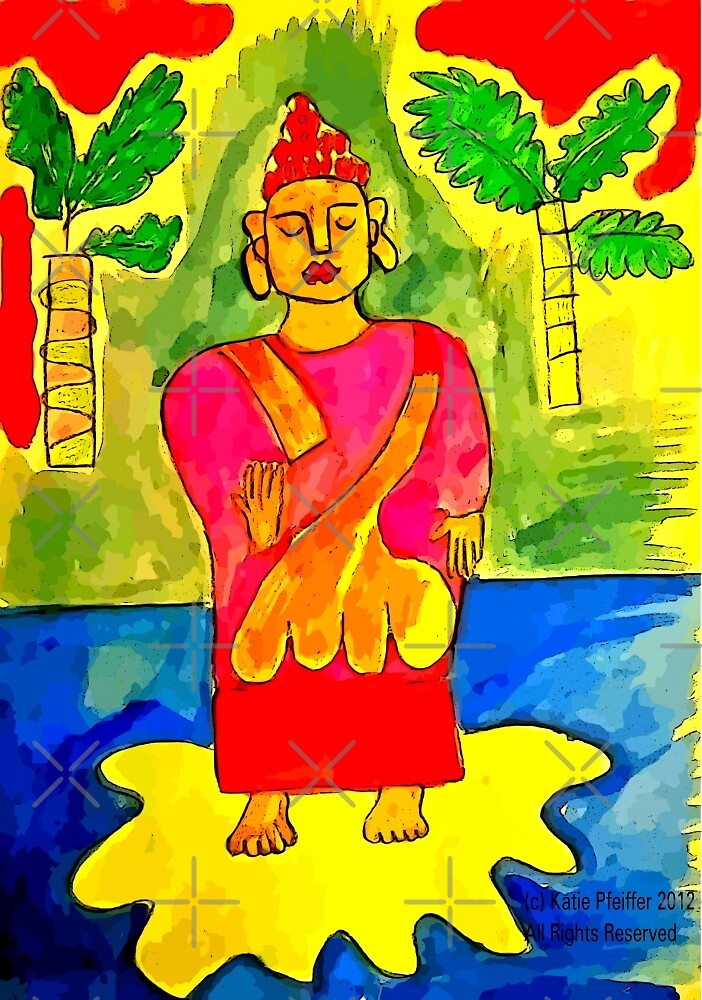 Buddha by Kater