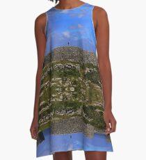 Dun Eochla Stone Fort - Inishmore A-Line Dress