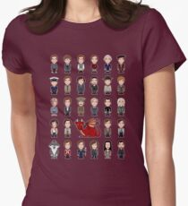 A Field Guide to the Common Cumberbatch (shirt) Womens Fitted T-Shirt