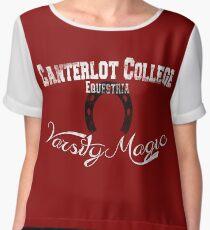 Canterlot College - Varsity Magic Chiffon Top