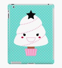Beautiful cartoon Christmas Tree Vector iPad Case/Skin