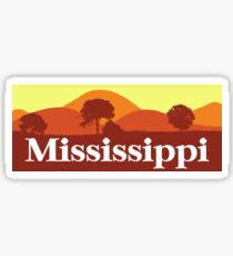 Scenic Mississippi Sticker