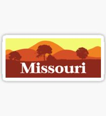 Scenic Missouri Sticker