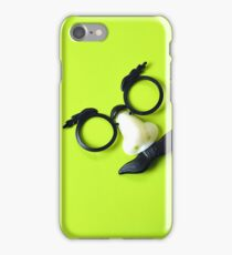 Funny Face Disguise Glasses and Mustache iPhone Case/Skin