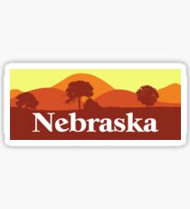 Scenic Nebraska Sticker