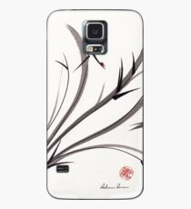 """My Dear Friend""  Original ink and wash ladybug bamboo painting/drawing Case/Skin for Samsung Galaxy"