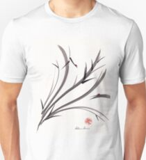 """My Dear Friend""  Original ink and wash ladybug bamboo painting/drawing Unisex T-Shirt"