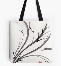 """""""My Dear Friend""""  Original ink and wash ladybug bamboo painting/drawing Tote Bag"""