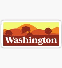 Scenic Washington Sticker
