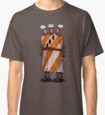 "Three ""Knightly"" Gear Heads Classic T-Shirt"