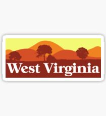 Scenic West Virginia Sticker