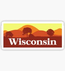 Scenic Wisconsin Sticker