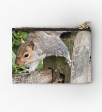 Squirrel On the Hunt Studio Pouch