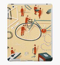Bicycle building iPad Case/Skin