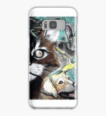 Tails from the Other Side: Proceeds to benefit Animal Rescue Samsung Galaxy Case/Skin