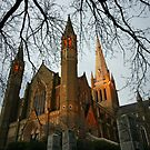 Sacred Heart Cathedral, Bendigo by Harry Oldmeadow