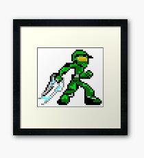 Pixel Guy Framed Print