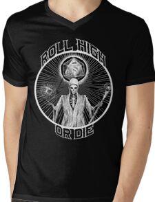 D20 Reaper - Roll High or Die d&d - Dungeons & Dragons Mens V-Neck T-Shirt