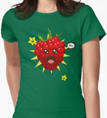 Françoise the Raspberry Womens Fitted T-Shirt
